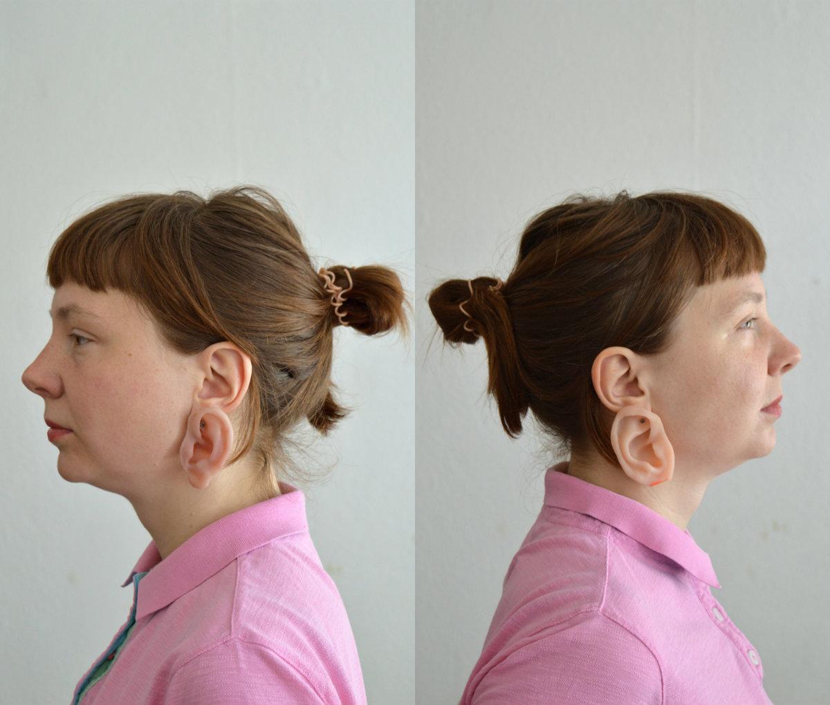 pendientes en forma de oreja