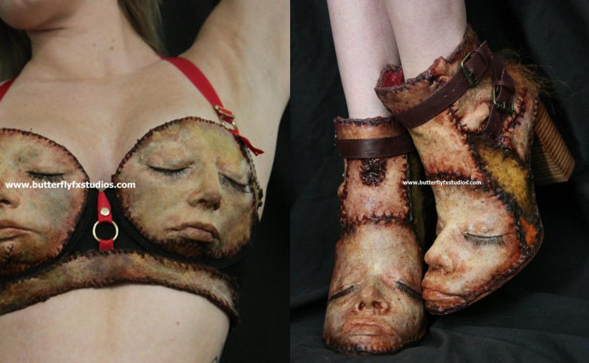 coleccion ropa piel humana
