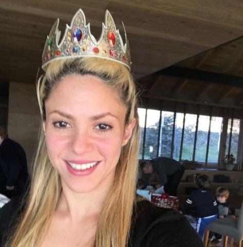 Shakira publica una foto el día de Reyes y le llueven las críticas, ¡el motivo es ridículo!