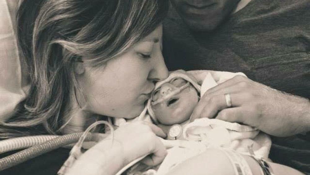 Aunque sabía que su bebé moriría al nacer, quiso tenerlo para donar sus órganos