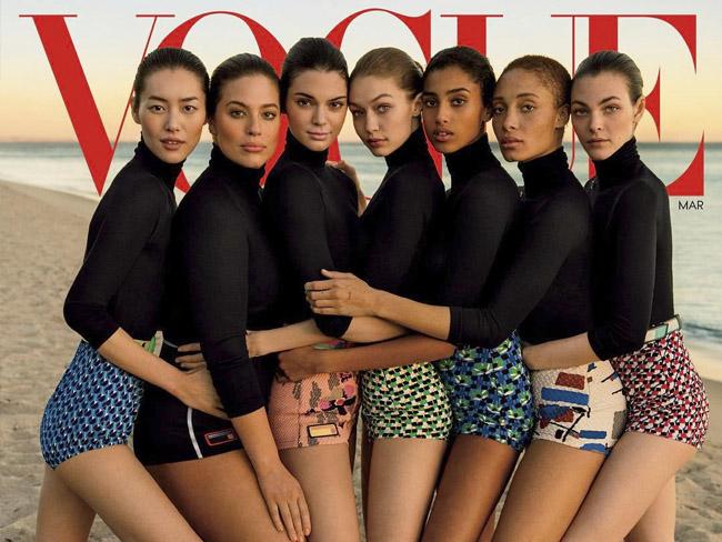 ¿Ha adelgazado Vogue con Photoshop a esta modelo de tallas grandes?