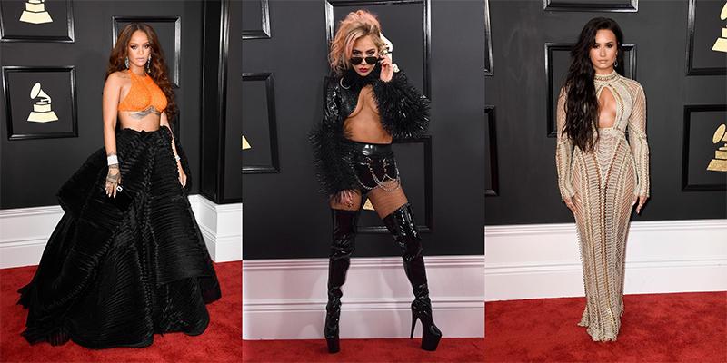 Lo mejor de la alfombra roja de los premios Grammy 2017