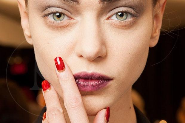 Labios borrosos: la nueva forma de pintarse los labios en 2017
