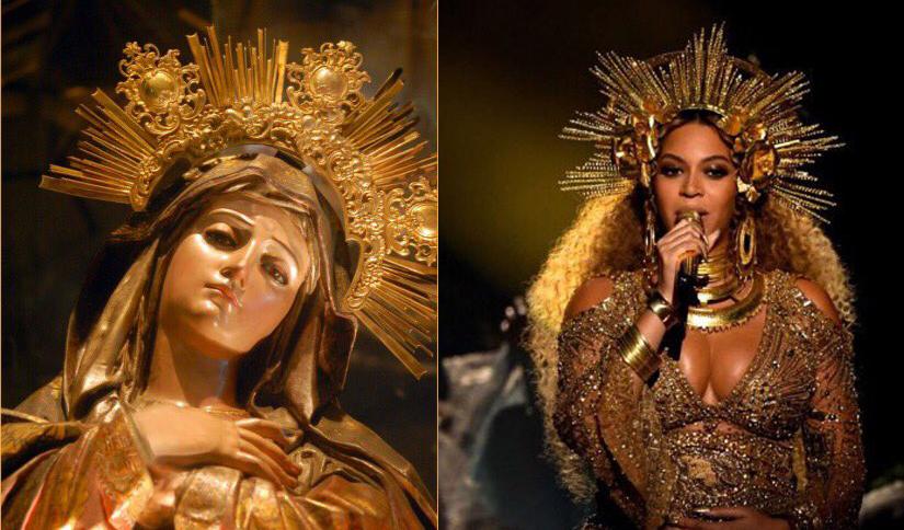 Los mejores memes de Beyoncé y su corona de Virgen en los Grammy 2017