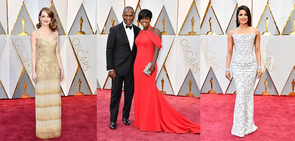 Los ganadores y los mejor vestidos de los Oscar 2017
