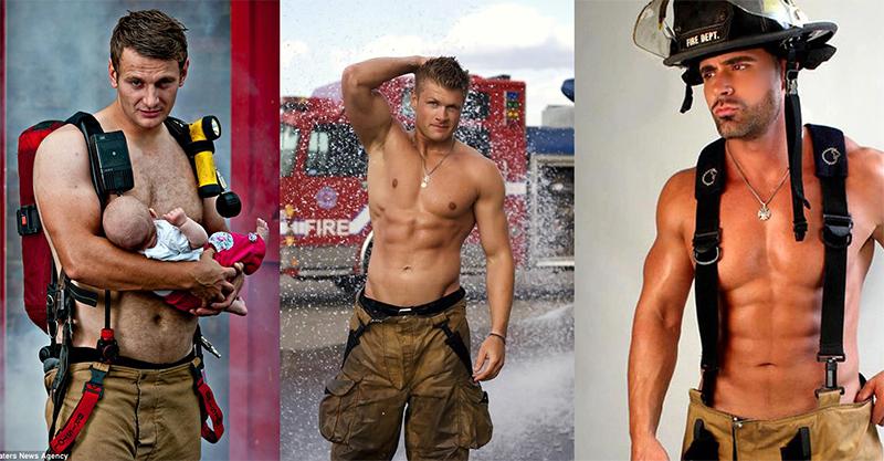 Los bomberos más guapos y sexis