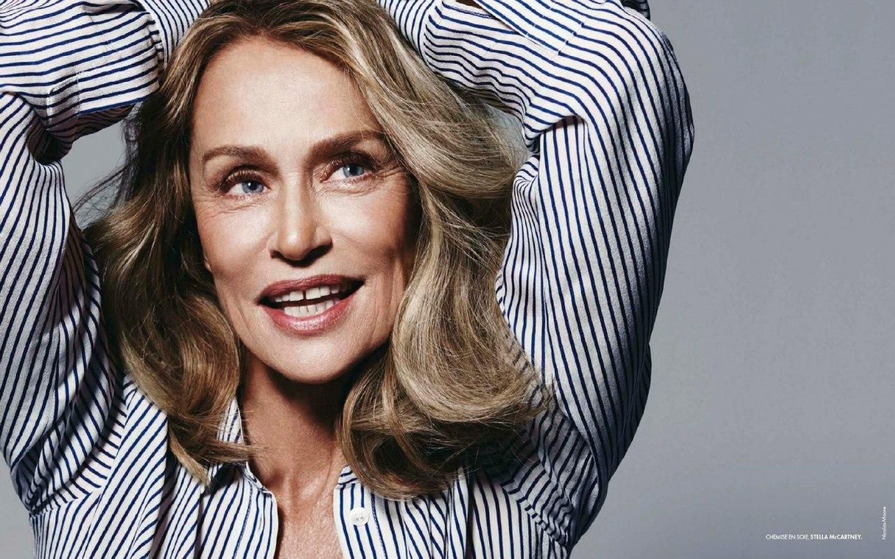 Calvin Klein elige a una modelo de 73 años en su última campaña