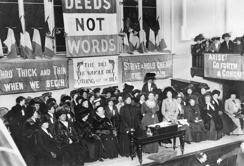 5 momentos históricos del feminismo