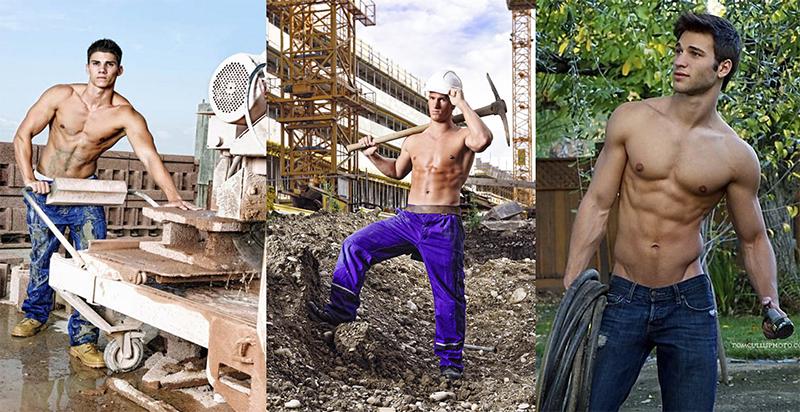 obreros mas guapos y sexis