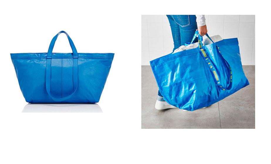 El bolso de 1.700€ que es igual que una bolsa de Ikea de 0,99€