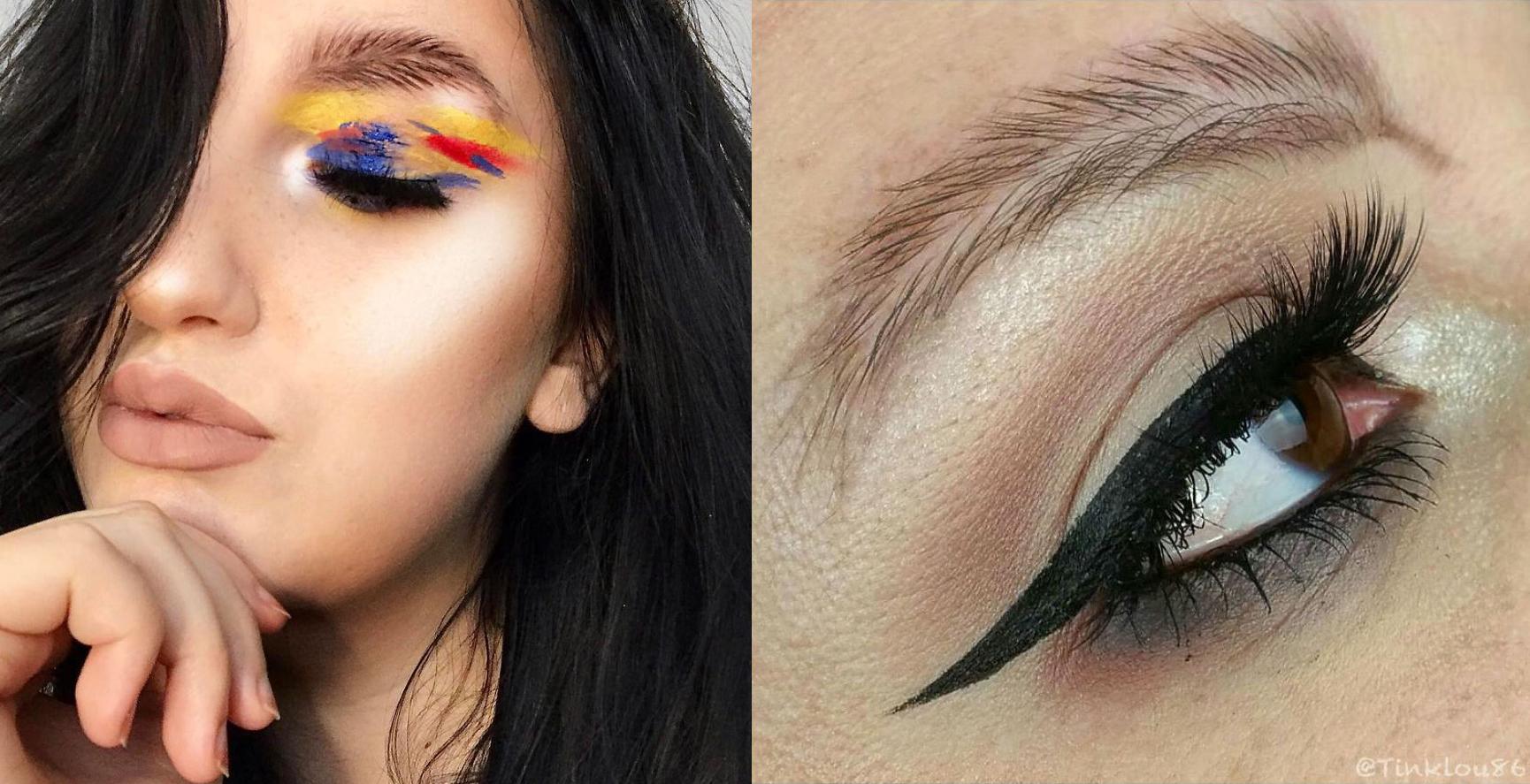 'Cejas pluma': la broma de la moda que internet se tomó en serio