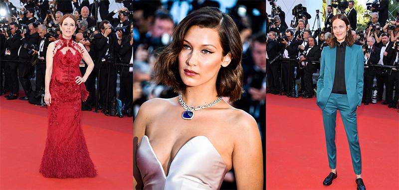 El 'nude' arrasa en la alfombra roja de Cannes 2017