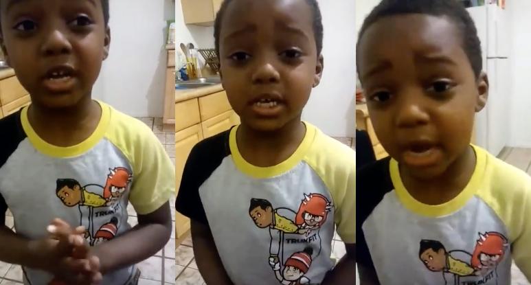 """""""La gente tiene que dejar de matarse"""": la reflexión de un niño de 6 años"""