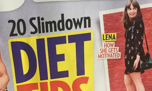 lena dunham perdida de peso