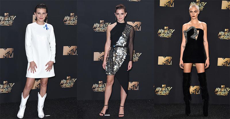 Los mejores looks de los MTV Movie & TV Awards 2017