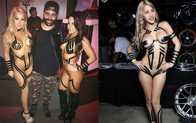 Vestirse con cinta adhesiva: la tendencia que llega directamente desde Miami