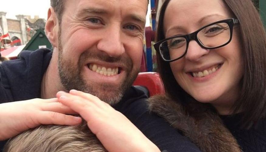 Este padre tuvo que elegir entre salvar la vida de su hijo o la de su mujer