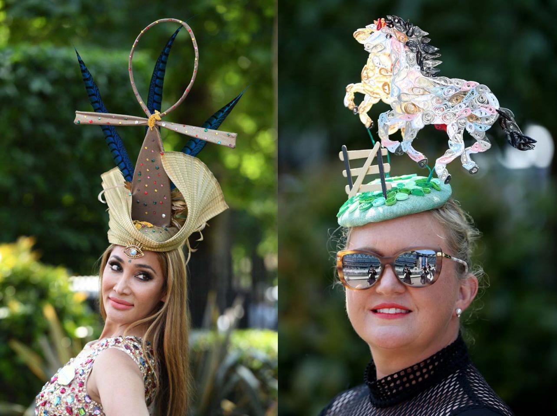 Los sombreros más locos vistos en Ascot, el evento más extravagante de Inglaterra
