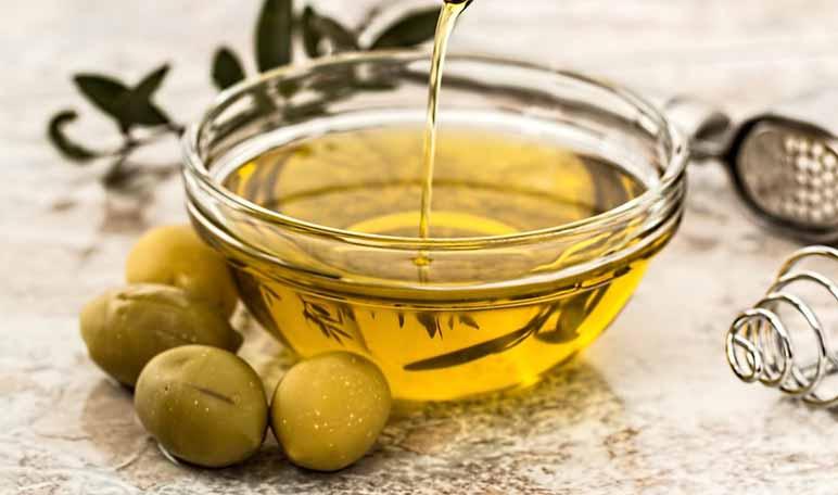 aceite de oliva pestañas