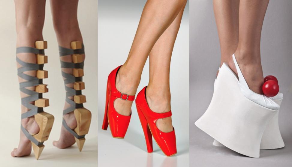 los zapatos mas ridiculos
