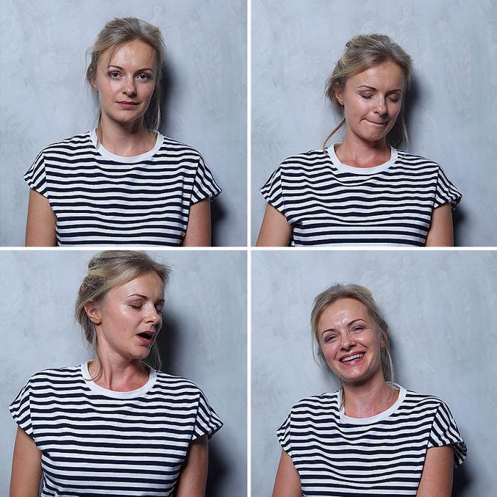 Así cambia el rostro de la mujer antes y después de un orgasmo
