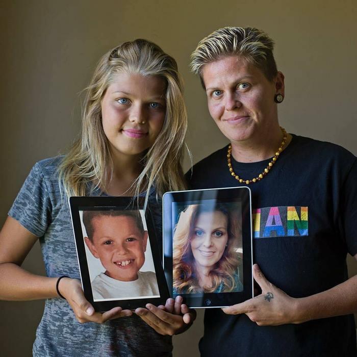Anunció que era transgénero y, 3 años después, lo hizo su padre también