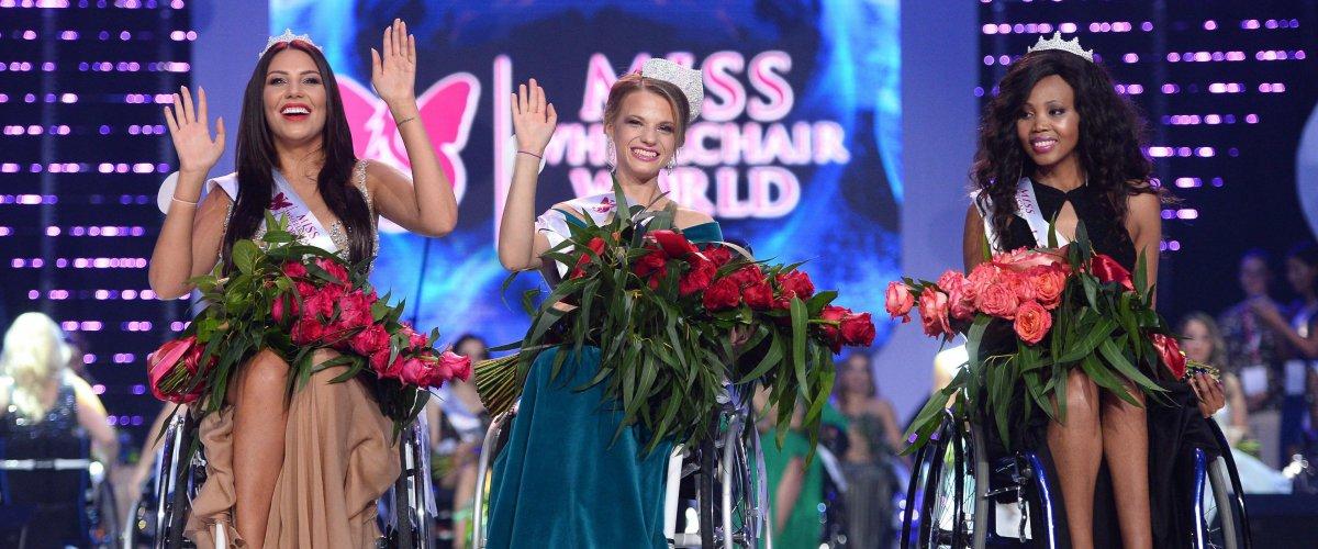 primer concurso miss mundo silla de ruedas