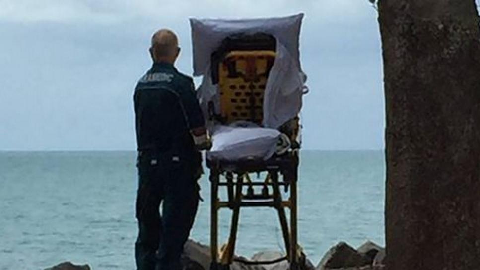 Esta ambulancia se desvió para cumplir el último deseo de una paciente