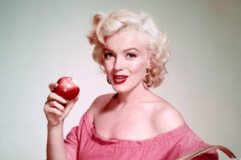 Revelan la extraña dieta de Marilyn Monroe