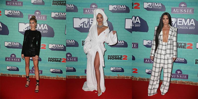 Los mejores looks vistos en los MTV EMA 2017