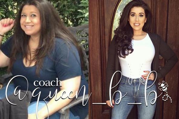 mujer pierde 50 kilos