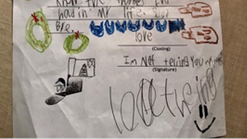 """La dramática carta de un niño a Papa Noel: """"tu vida está vacía"""""""
