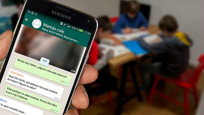 El hilo de Twitter sobre grupos de WhatsApp de padres que se ha hecho viral