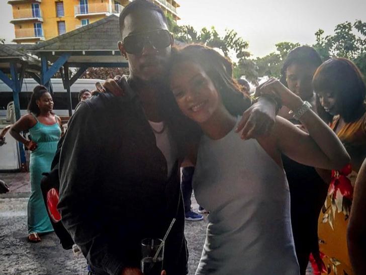 Matan al primo de Rihanna después de haber pasado la tarde con ella