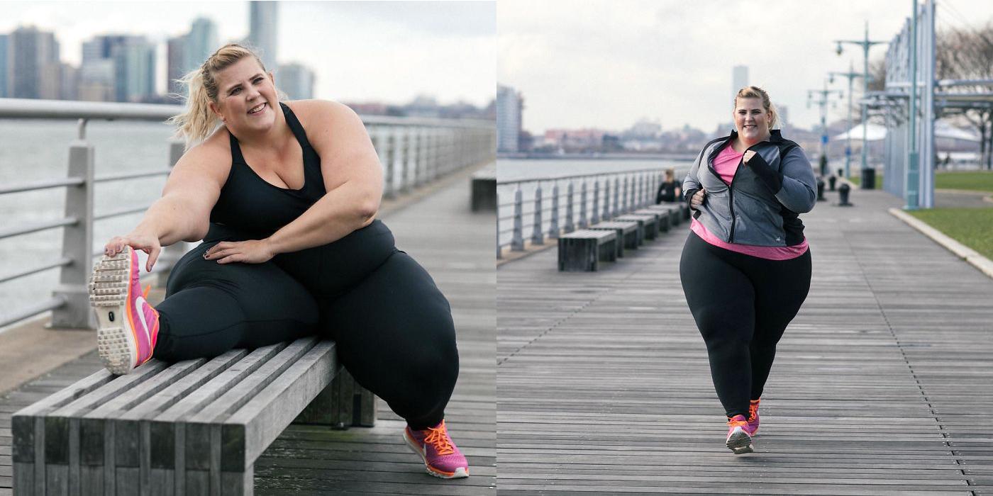 Esta marca de ropa deportiva eligió como imagen a una mujer obesa