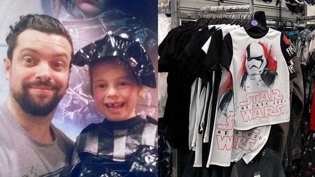 ¿Star Wars es para niños? Un padre denuncia el sexismo en esta tienda