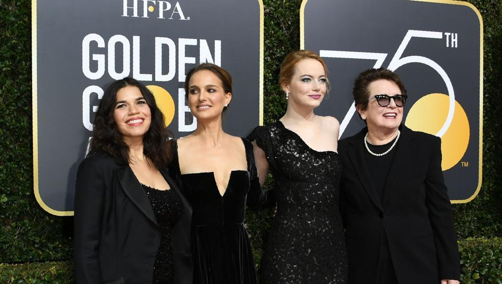 El negro, protagonista de la alfombra roja de los Globos de Oro 2018