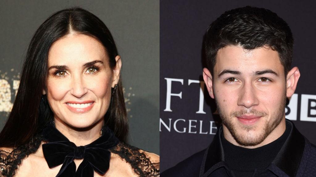 ¿Están juntos Demi Moore y Nick Jonas?