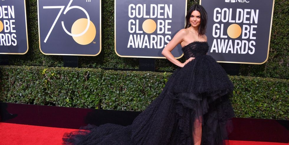 La respuesta de Kendall Jenner a los que criticaron su acné en los Globos de Oro