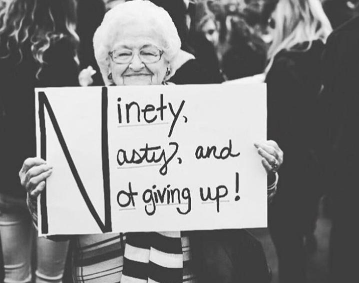 marcha de las mujeres 2018