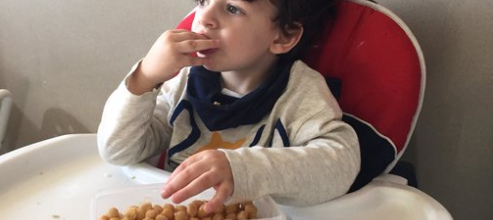 niño garbanzos