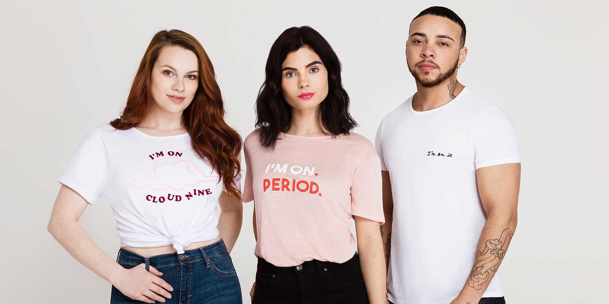 Un hombre transexual protagoniza una campaña para normalizar la menstruación