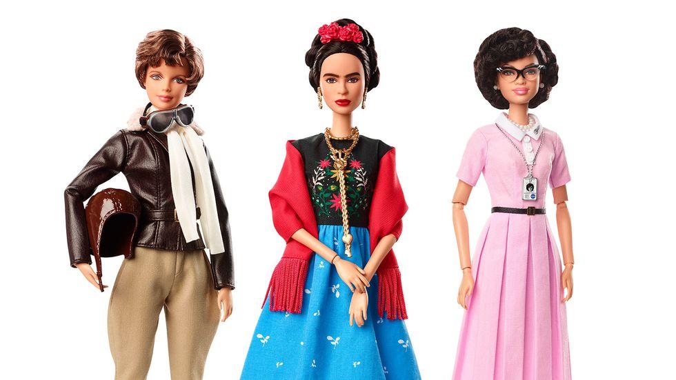 Muñecas Barbies inspiradas en mujeres que hicieron historia por el Día de la Mujer