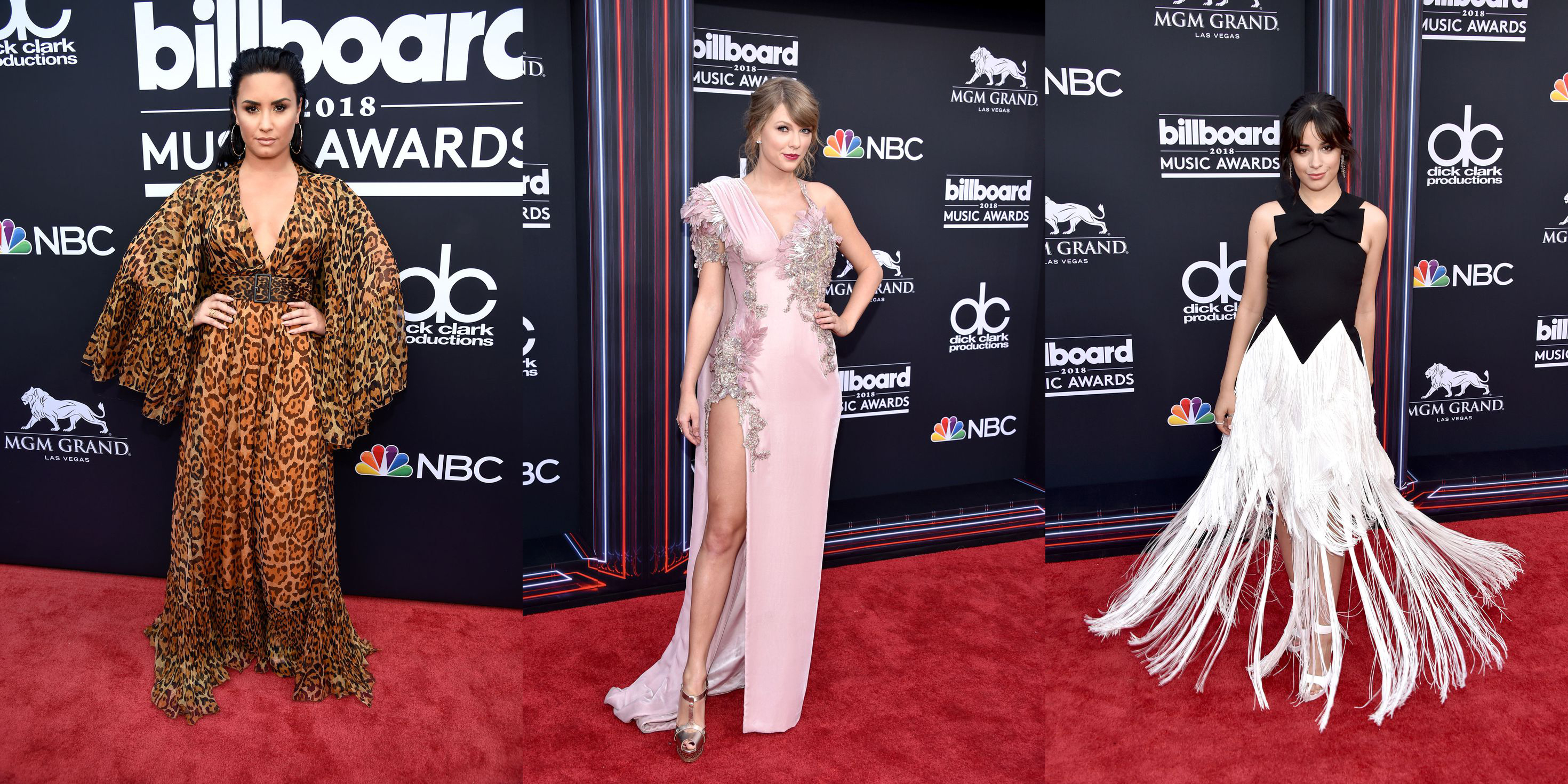 La alfombra roja de los Billboard Music Awards 2018