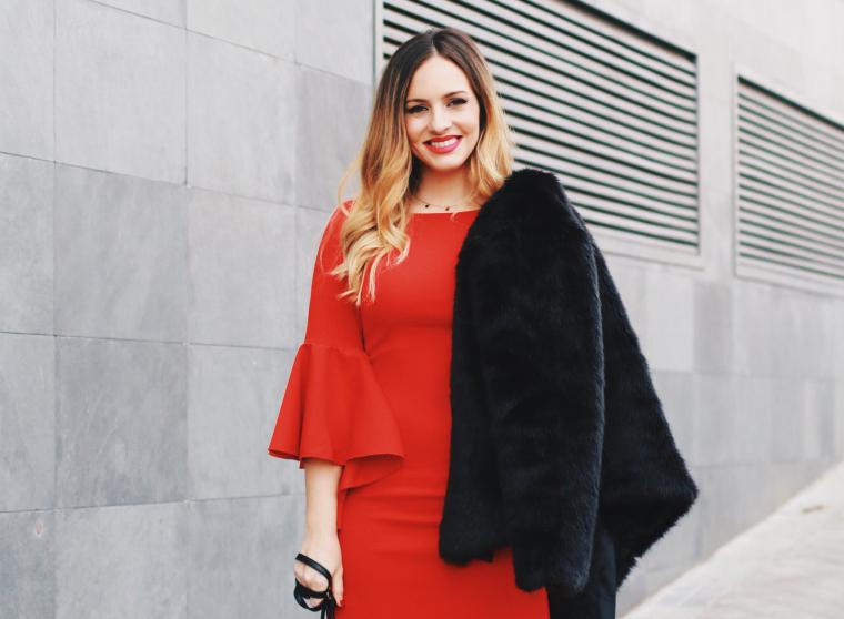 Maquillaje de noche paso a paso vestido rojo