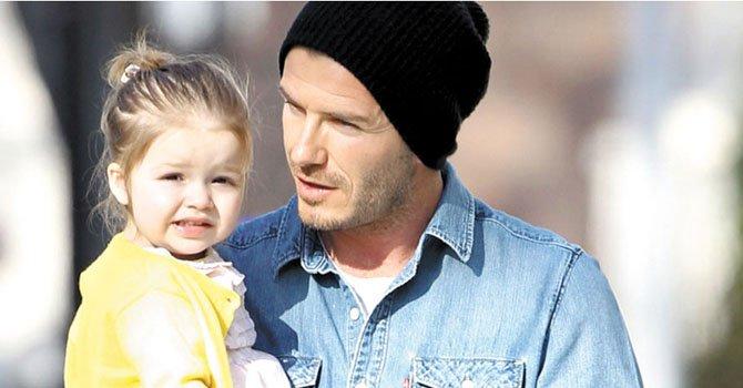 El vídeo de David Beckham siendo el mejor padre del mundo