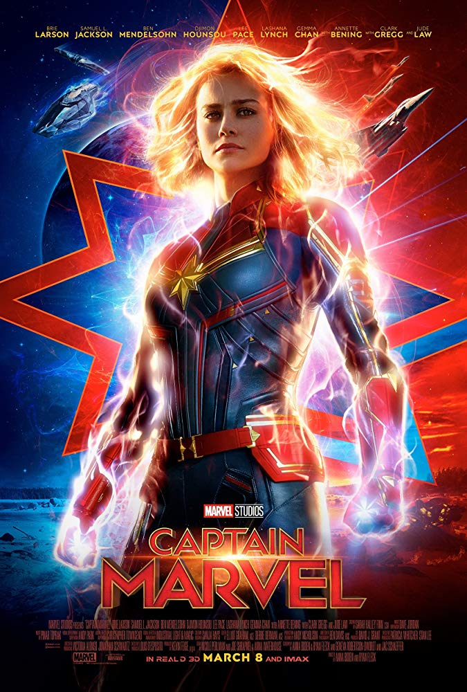 Machistas odian la película Capitana Marvel