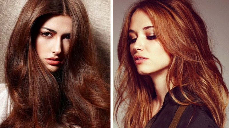20 mejores ideas para teñir el pelo castaño rojizo ...