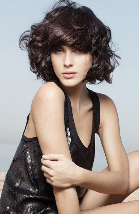 Ideas de estilo para peinados pelo corto y rizado Colección De Cortes De Pelo Ideas - 30 peinados fáciles para cabello corto y rizado | Estarguapas