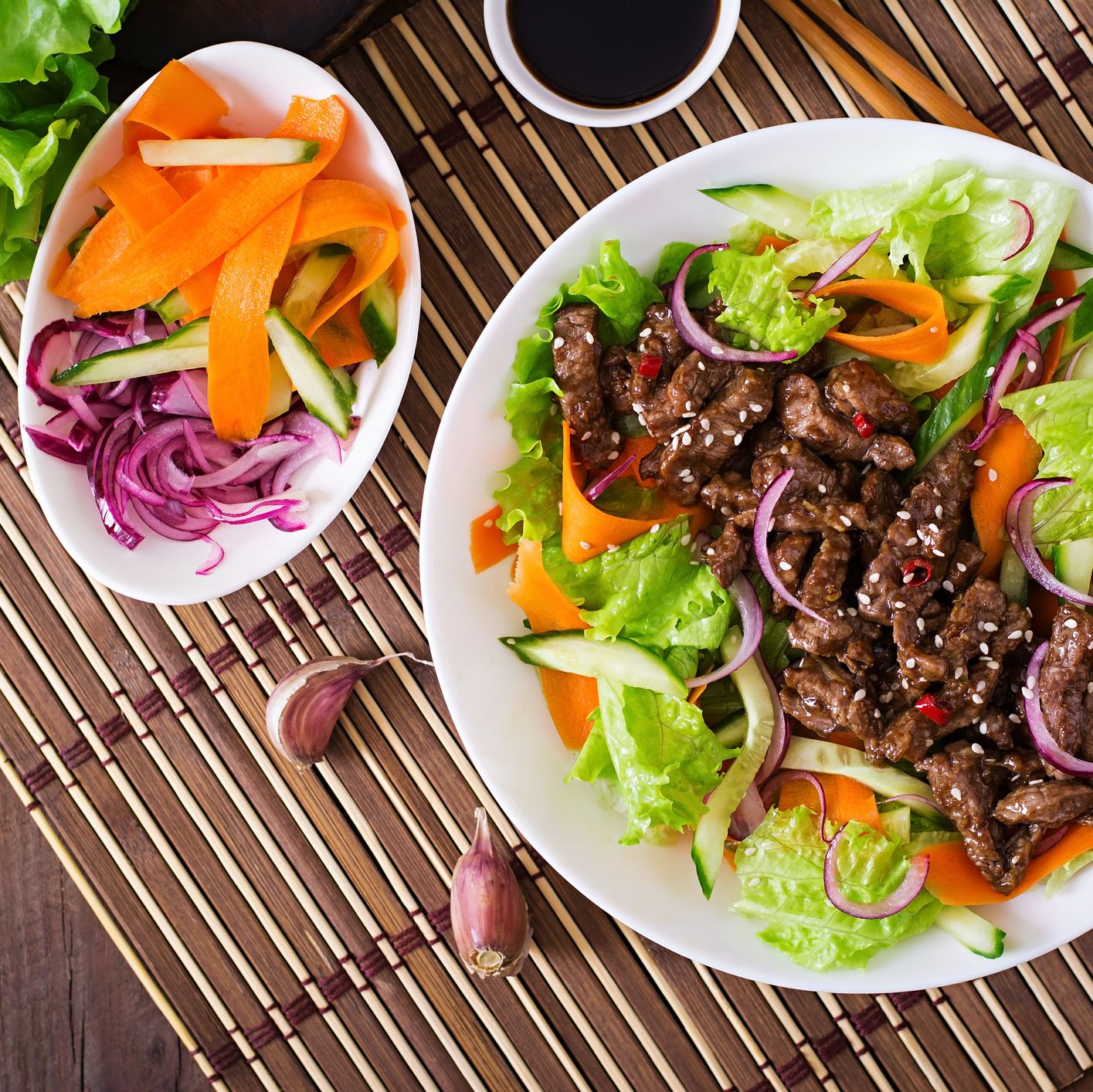Spicy Beef Salad